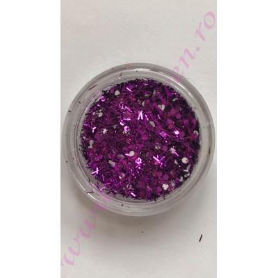 Paiete cu sclipici - Purple