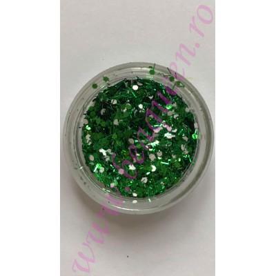 Paiete cu sclipici - Verde Smarald
