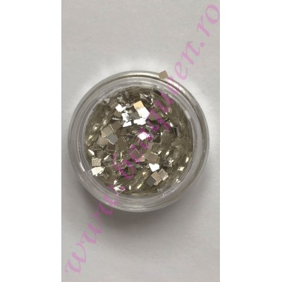 Paiete Mirror Efect- Silver
