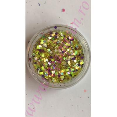 Paiete cu sclipici - Multicolore #18
